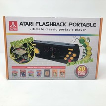 NIB Atari Flashback Portable Frogger Centipede 60 Built In Games Handheld - $50.48