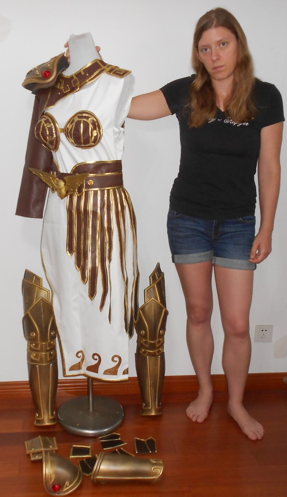 Athena Cosplay From The Video Game Smite And 50 Similar Items