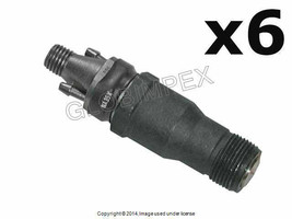 Mercedes w124 w126 Rebuilt Fuel Injector Assembly Set of 6 BOSCH OEM +WA... - $705.75