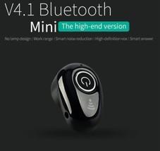 Mini Wireless Bluetooth 4.1 Stereo Invisible Headset In-Ear Earphone Ear... - $12.34