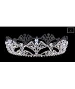 Sterling Plated  Royal Rhinestone Crown - $163.35