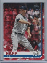 J.A. HAPP 2019 Topps Independence Day #62/76 #481 D5367 - $8.06