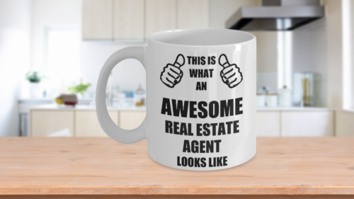 Funny Gifts For Real Estate Agent Hubby Wifey Wife Husband Mom Dad Daughter Son