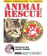 Animal Rescue Vol. 2 - Best Cat Rescue (DVD, 2006) Hosted by Alex Paen  ... - $2.52