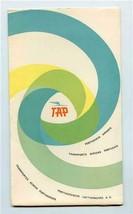 TAP Air Portugal Seat Back Folder Forms Postcards Transportes Aereos Por... - $47.52