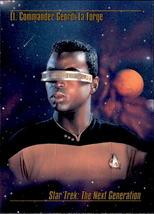 Geordi La Forge 1993 Skybox Star Trek Master Series Card #13 - $0.99
