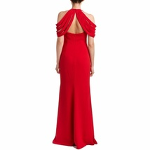 Badgley Mischka Strappy Cold Shoulder Gown/Dress RED or BLACK image 3