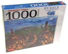 Borobudur Temple 1000 Pc Jigsaw Puzzle 29x20 Buddhist Monument Tuttle In... - $12.19