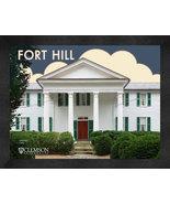 """Clemson University """"Fort Hill"""" 13x16 Art Deco Framed Print  - $39.95"""