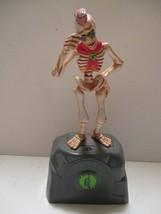 1996 Goosebumps Curly Skeleton Creature Monster Working Parachute Hasbro - £15.16 GBP