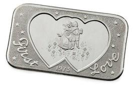 1973 Mother Lode Casa de Moneda 1 Oz. Plateado Barra Artístico Primer Am... - $54.16