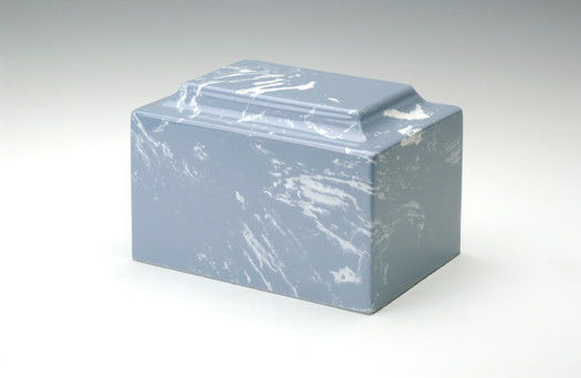 Primary image for Classic Marble Wedgewood Adult Cremation Urn, 325 Cubic Inches, TSA Approved