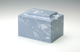 Classic Marble Wedgewood Adult Cremation Urn, 325 Cubic Inches, TSA Approved - $234.99
