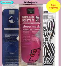 Earth Therapeutics Choose Hello Kitty or Zebra Contoured Sleep Mask New - €12,29 EUR
