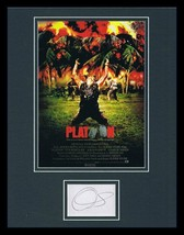 Oliver Stone Signed Framed 11x14 Platoon Poster Display  - $139.89