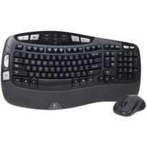 Logitech Wave MK550 Desktop Wireless Multimedia Keyboard & Laser Mouse K... - $43.56