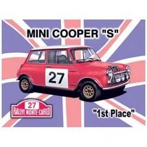 "Mini Cooper ""S""  Metal Advertising Sign - $16.95"