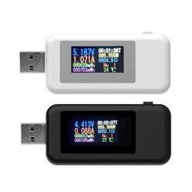 10 in 1 Digital Dispay 4-30V DC USB Tester Current Voltage Charger Indic... - $15.99