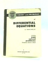 Schaum's outline of theory and problems of differential equations Ayres, Frank image 2