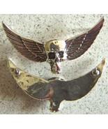 Vietnam SF MACV SOG Skull Wings Badge Sterling  - $45.00