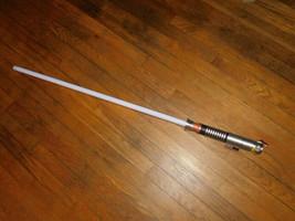 star wars starwars light saber lightsaber green works  - $19.25