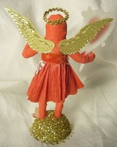 Vintage Inspired Spun Cotton Valentine Angel no. 140A image 2