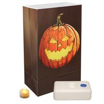 Lumabase Designer Series LED Jack O' Lantern Luminaria kit 12 count |Lb2 - $23.36