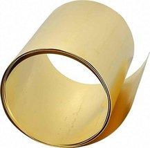 Online Metal Supply C260 Brass Shim Sheet 003 x 6 120 h1 l12000 w600 w200 - £19.11 GBP