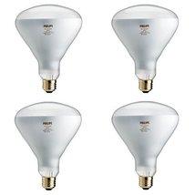 Philips 459404 EcoVantage 65W Equivalent Halogen BR40 Flood Light Bulb 4 Pack - $39.49