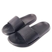 Non Slip Rubber Indoor Slippers Casual Home Bathroom Flip Flops Summer S... - $23.36+