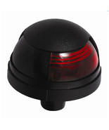 Attwood Pulsar™ 1-Mile Deck Mount Red Sidelight - 12V - Black Housing - $28.24