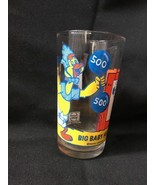 Vintage Pepsi Collectible Big Baby Huey Glasses Harvey Cartoons Circus - $8.60