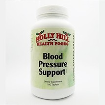 Holly Hill Health Foods, Blood Pressure Support, 180 Tablets