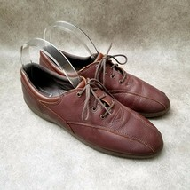 Easy Spirit Womens  7149 Sz 9.5 M Brown  Lace Up Oxford - $27.99