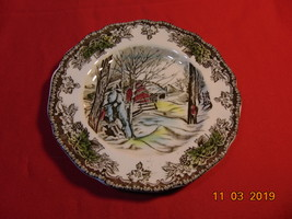 "6 1/8"", Bread & Butter Plate, from Johnson Bros., in Friendly Village Pattern. - $3.99"
