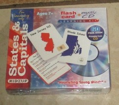 Kidzup I'm Learning My States & Capitals Music CD Learning Kit NEW - $40.96