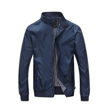 Hot Fashion Mens Thin Spring Autumn Jackets Casual Fashion England Style... - $37.26