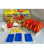 McDonalds Restaurant Playdoh 2003 with BOX CLEAN Arch Nuggets Shake blue... - $59.35