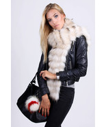 Real Fur Scarf (White)/Véritable Echarpe En Fourrure (Blanc) - $126.65