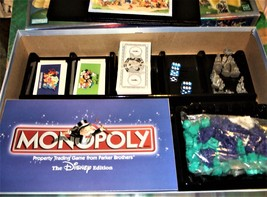 Monopoly -The Disney Edition - Property Trading Game From Parker Brothers -2001 image 6