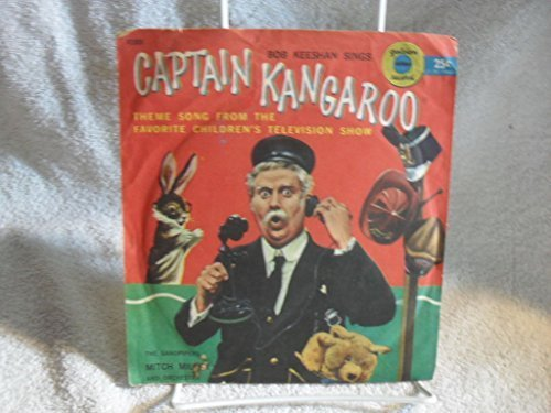 Rare 78 rpm CAPTAIN KANGAROO Bob Keeshan sings CAP. K THEME SONG Record Vinyl