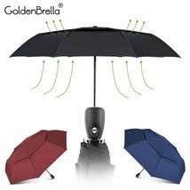 GoldenBrella® Women Umbrella Wind Resistant Double Layer Umbrella Rain W... - $10.40