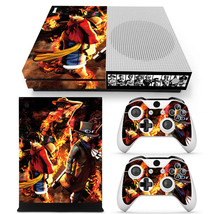 One Piece Anime Xbox one S Skin for Xbox one S Console and Controllers - $17.00