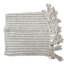 Collection Eighteen 18 White Silver Infinity Cowl Scarf NWT - $8.91