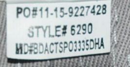 Augusta Sportswear Six Panel Red Black White Hook Loop Adjustable 6290 Adult image 7