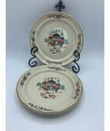 International HEARTLAND VILLAGE Stoneware Set of 2 Rim Salad Plate 7 5/8in - $15.88