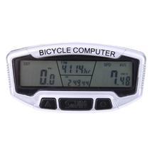 Waterproof Bike Cycling LCD Computer Odometer Bicycle MTB Speedometer Ve... - €13,70 EUR