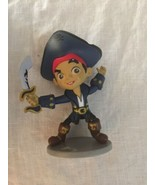"DISNEY JAKE FIGURE Peter Pan & Neverland Pirates Captain Hook 4.5"" CAKE ... - $7.91"