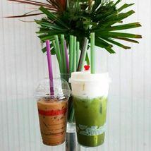 Rice straws planet-friendly, ocean-safe, guilt-free drinking - 100 straws  image 5