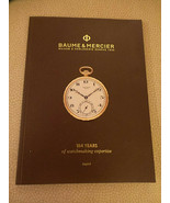 Baume & Mercier 184 Years of Watchmaking Experience Exhibition Catalog 2... - $24.99